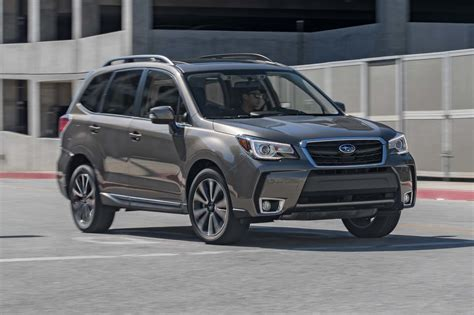 subaru xt 2017 subaru forester 2 0xt touring first test review