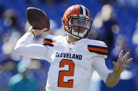 report johnny manziel starting  browns  thursday