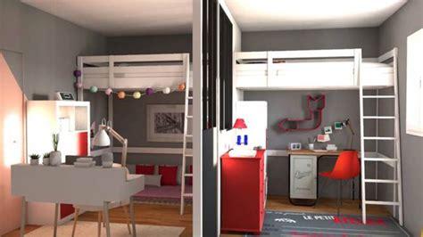 astuce pour separer une chambre en 2 d archi déco repenser une chambre pour deux
