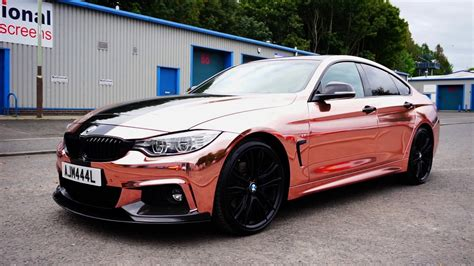 Our First Rose Gold Chrome Wrap!!!!!