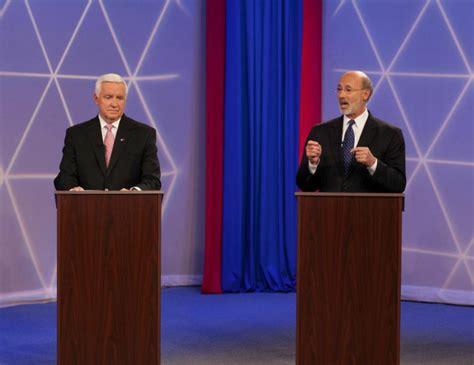 pa gov   gubernatorial debate politicspa