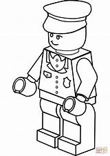 Coloring Pages Lego Police Officer Clipartmag sketch template