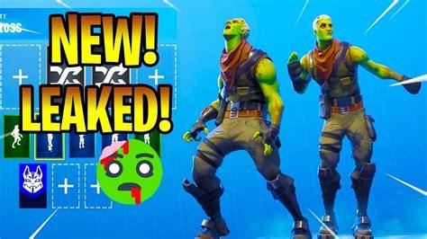leaked zombie skin braniac   dance emotes