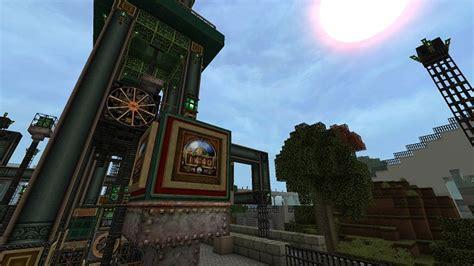 glimmars steampunk resource pack minecraft