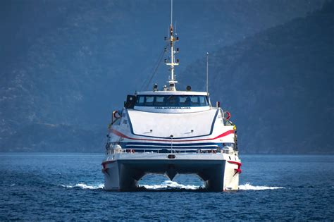 Greece Catamaran Ferry by Getting The Ferry To Rhodes From Marmaris Flashpacking
