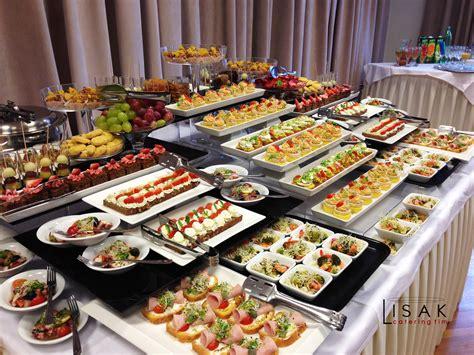 buffet cuisine en pin catering lisak fingerfood decoracion