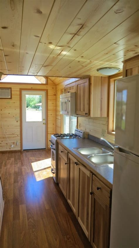 spacious tiny house living  richs portable cabins
