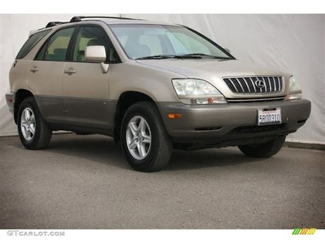 gold lexus rx 2001 burnished gold metallic lexus rx 300 89916120