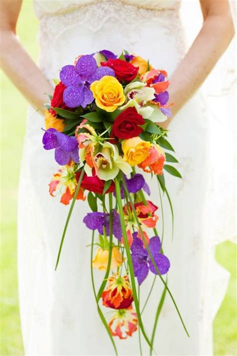 17 Best Images About Bright Color Weddings On Pinterest