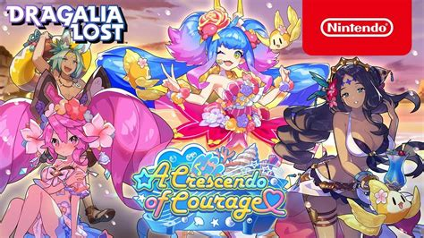 crescendo  courage summon showcase  dragalia lost