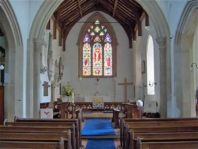 Inside Church Wroxham Parish Hoveton