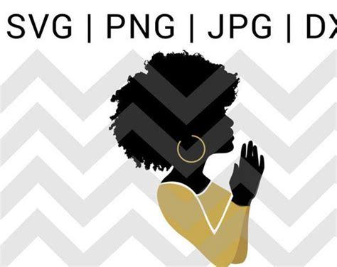 praying hands svg praying woman svg file black woman pray