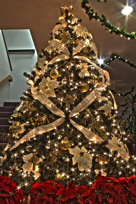 brown christmas ornaments invitation template