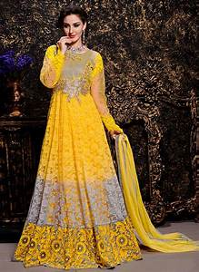 Maxi Style Anarkali Dresses Collection Frock Designs 2018 2019