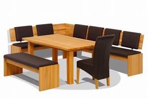 Essecke Holz Massiv : eckbank f r eine sch ne esszimmer einrichtung ~ Frokenaadalensverden.com Haus und Dekorationen