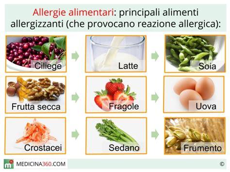 allergie alimentari sintomi  terapia  test  la