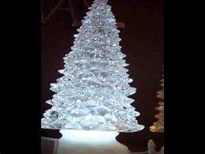 Sapin Noel Blanc : sapin de noel lumineux effet boule neige led blanc froid sur piles youtube ~ Preciouscoupons.com Idées de Décoration