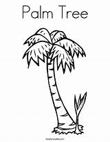 Palm Coloring Tree Trees Pages Printable Sheets Sheet Noodle Twistynoodle Built California Usa Names Twisty sketch template