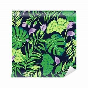 Fototapete Vektor nahtlose hellen bunten tropischen Muster ...
