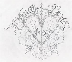 Love Tattoo Sketches Pictures to Pin on Pinterest - TattoosKid