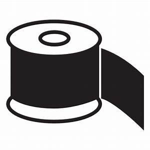 Collection of rolls of paper icons free download