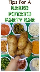 diy table number holders football party with a baked potato bar