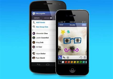 instant android messageme more than just another instant messaging app