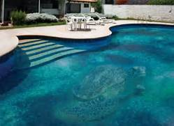 Fascinating Swimming Pool Design With Mosaic Glass Tiles By Glassdecor Interesting Pool Home Design Inspiration Smart Ideas For Interior Exterior Design Gallery Of 10 Modern Pool Design Natural Creative Ideas