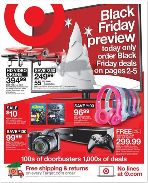 target black friday 2015 ads deals sales doorbusters heavy