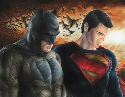 Superman Batman Fanart Wallpapers Dawn Dc Henry