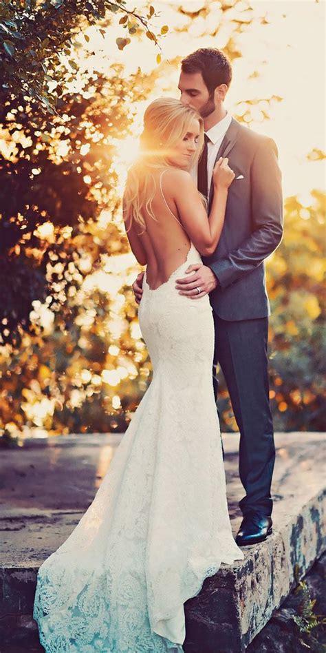 great ideas  original backless wedding dresses