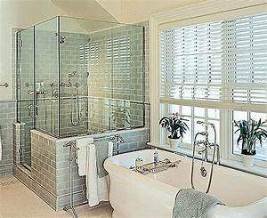 7 bathroom window treatment ideas for bathrooms for Window dressing ideas for bathrooms