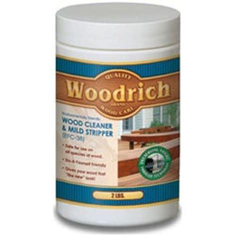 woodrich cleaner wood cleaner mild stripper twp