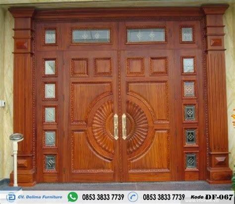 desain pintu kupu tarung mewah model pintu rumah utama