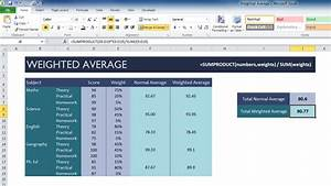 Excel Amortization Weighted Average Template My Excel Templates