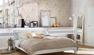Tapeten Schlafzimmer Grau : sch ne wohnzimmer und schlafzimmer tapeten tapeto ~ Markanthonyermac.com Haus und Dekorationen