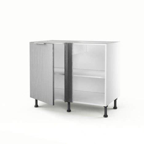meuble cuisine bas angle meuble de cuisine bas d 39 angle décor aluminium 1 porte stil