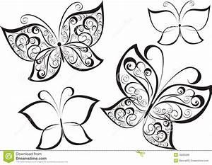Butterfly  Vector Illustration Stock Vector