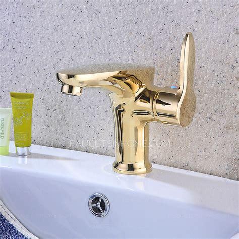 luxury bathroom faucets luxury golden chrome copper bathroom sink faucet