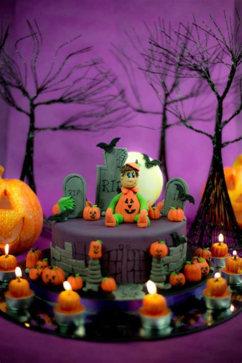 decoration gateau halloween facile