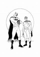 Coloring Pages Robin Superhero Hero Super Printable Superheroes Sheets Batman sketch template