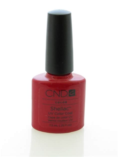 uv l nail polish cnd shellac uv gel nail polish wildfire 25oz ebay