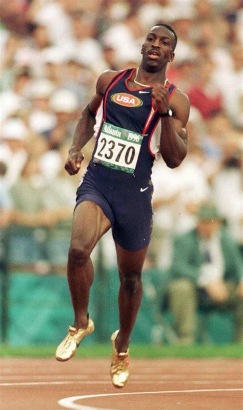 michael johnson wins      meters