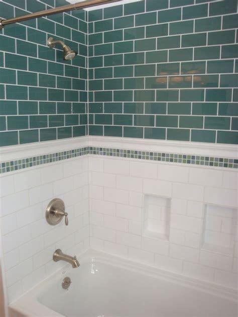 glass subway tile bathroom ideas 43 best showers images on bathrooms bathroom