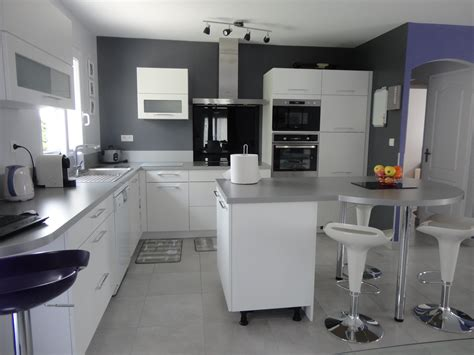 buffet cuisine bas stunning meuble de cuisine gris et blanc images design
