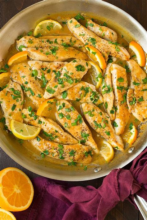 how to cook chicken tenderloins in skillet skillet citrus chicken tenders recipes