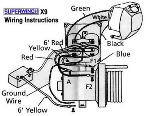 Lt2000 Superwinch Wiring Diagram by What Is The Wiring For A Dayton Winch Model 3vj74 Blurtit