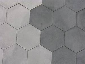 carrelage hexagonal sol et mur 15x15 cement durstone With carreau ciment hexagonal