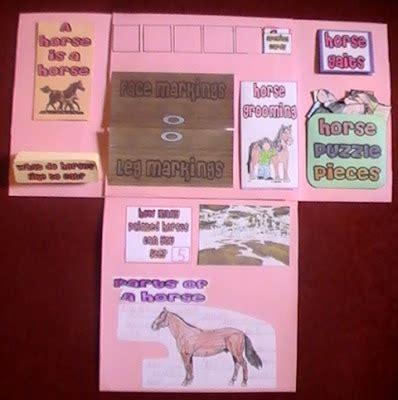 iman s home school horses lapbook