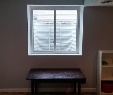 Finishing Window Sills by Basement Egress Window Requirements Breyer Construction